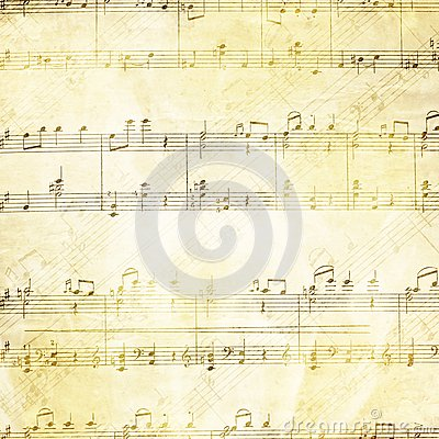 Free Music Background In Grunge Style Royalty Free Stock Photos - 40662048