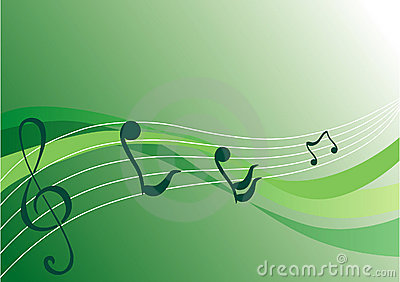Music background (vector)