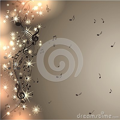 Free Music Background With Notes Stock Photography - 40725472