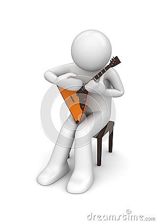Music - Balalaika performer