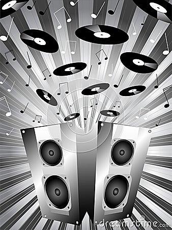 Music bursting