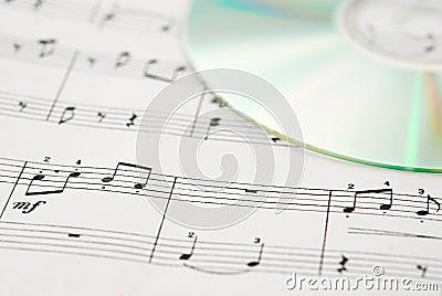 Music CD and music sheet