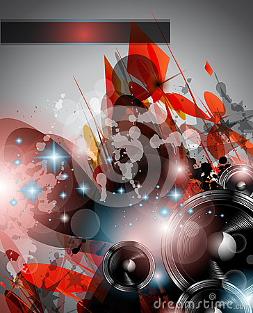 Music Club background for disco dance flyers