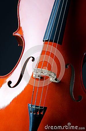 Music concept -  cello