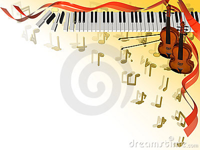 Music corner frame