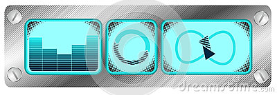 Music design icons