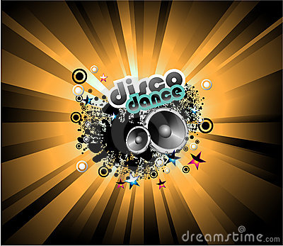 Music Disco Background
