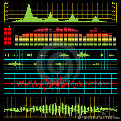 Music or electronics waves