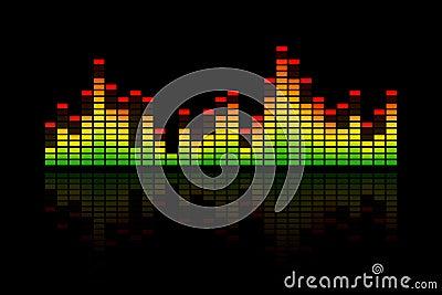 Music Equalizer Bars Stock Images Image 34501314
