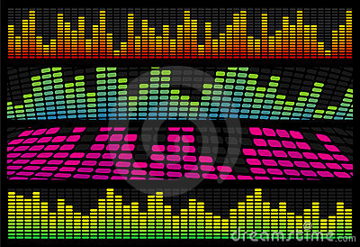 Music Equalizer Web Banners