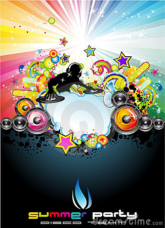 Free Music Event Abstract Background Royalty Free Stock Photo - 10369745