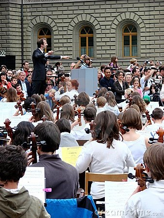 Music event: sternspiel in Ber Editorial Stock Photo
