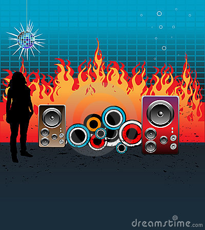 Music and flames