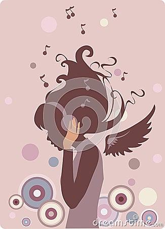 Free Music Girl Royalty Free Stock Photo - 6249935