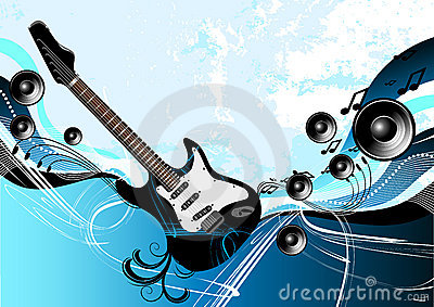 Music Guitar Abstract