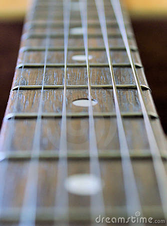 Free MUSIC - GUITAR NECK AND STRINGS Stock Photo - 1451700