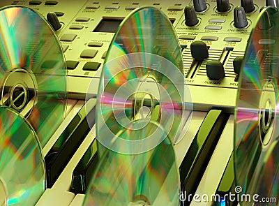 Music home studio (yellow)