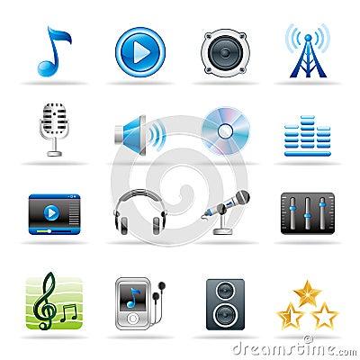 Free Music Icon Stock Photo - 19386850