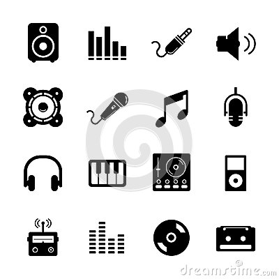 Music Icon Royalty Free Stock Images   Image: 32918359