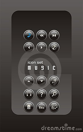 Music icon sets