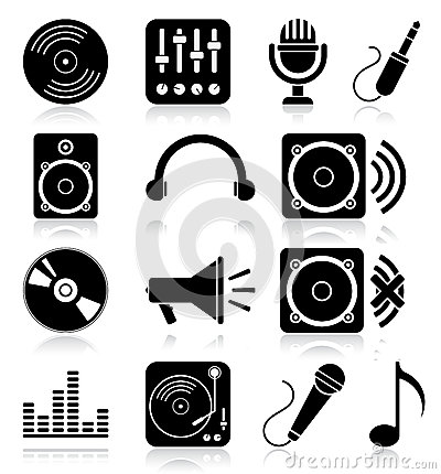 Free Music Icons Stock Photos - 32379863