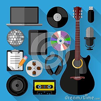 Music icons bundle
