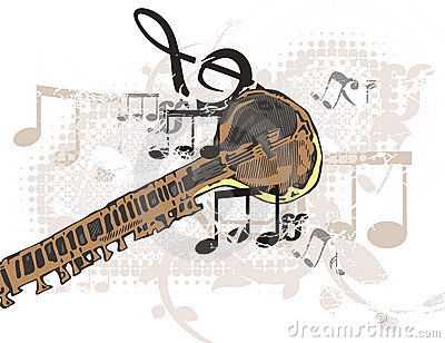 Music Instrument Background