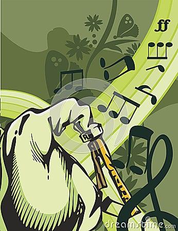 Free Music Instrument Background Stock Image - 1760751