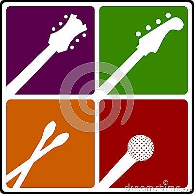 Music instrument symbols