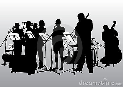 Music jazz band