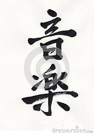 Music Kanji