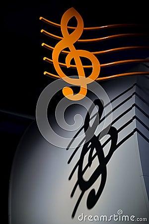 Free Music Key Royalty Free Stock Photo - 29701565