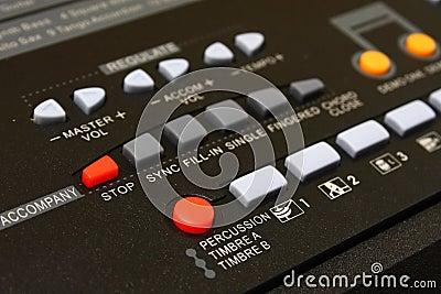 Music Keyboard Control