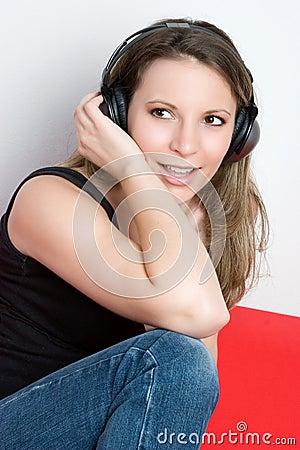 Music Listening Girl