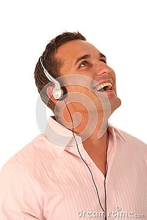 Music Listening Man