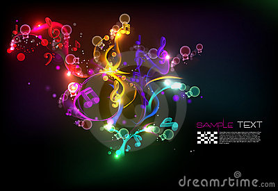 Music Magical Melody Background