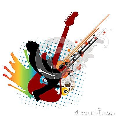 Free Music Man Royalty Free Stock Image - 3600476