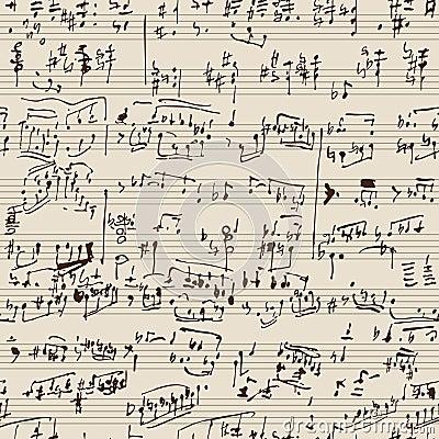 Free Music Manuscript Stock Images - 3079834
