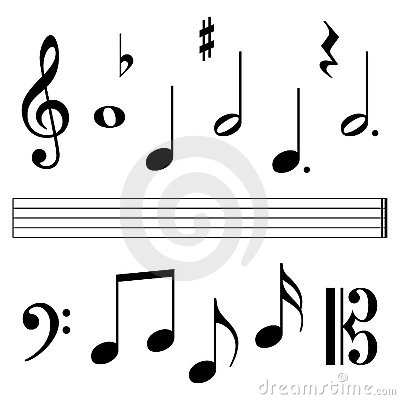 Free Music Notation Elements Stock Photos - 6316743