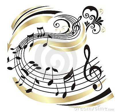 Free Music Note. Stock Image - 8535271