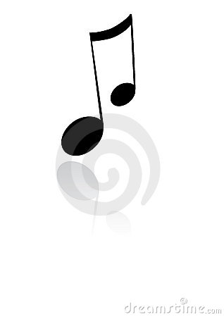 Free Music Note Stock Image - 8734951