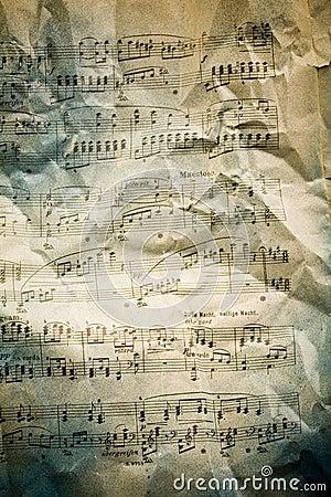 Free Music Note Background Stock Photo - 6290460
