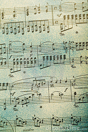 Free Music Note Background Stock Images - 6290484