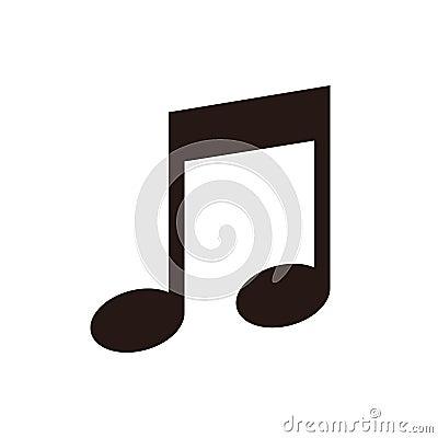Free Music Note Icon Stock Photo - 84643050