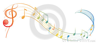 A music note Vector Illustration