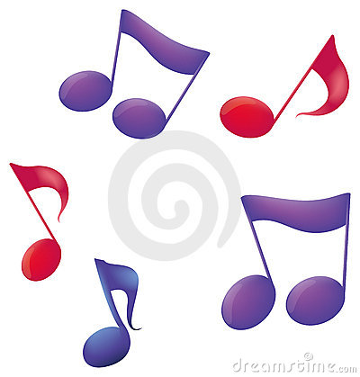 Free Music Notes Stock Photo - 10547840