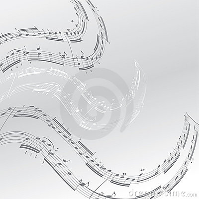 Free Music Notes Royalty Free Stock Photography - 12854107