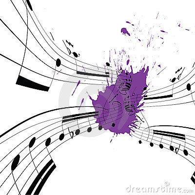 Free Music Notes Stock Images - 15854244