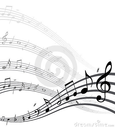 Free Music Notes Stock Photography - 18829302