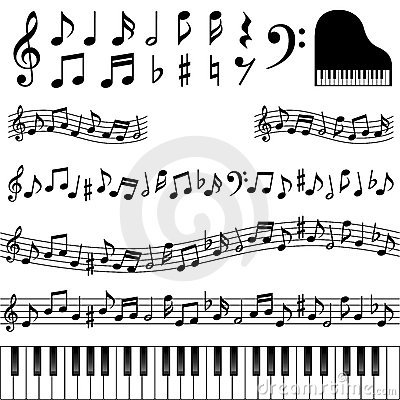 Free Music Notes Stock Image - 20854231